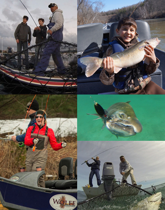 Michigan guided fishing trips