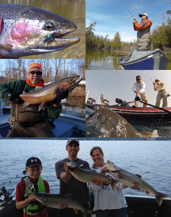 Michigan fishing guides