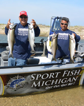 Michigan Salmon Fishing Charter