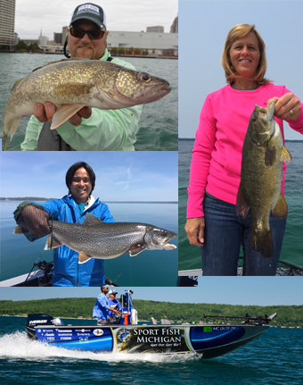 Michigan spring fishing guides