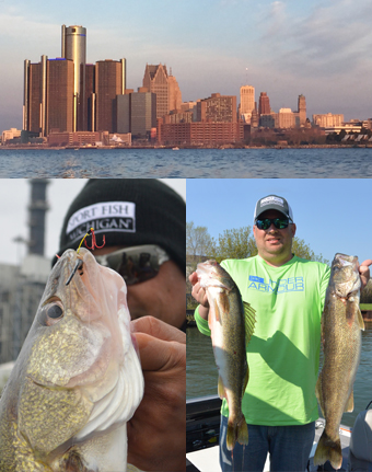 detroit walleye fishing