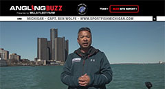 Ben Wolfe - AnglingBuzzTV Fishing Report - Early May 2018,detroit river,walleye,michigan fishing,sport fish michigan,anglingbuzz,captain ben wolfe