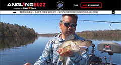 Ben Wolfe - Angling Buzz TV Fishing Report - Mid-May 2019
