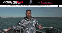 Ben Wolfe - AnglingBuzzTV Fishing Report - Mid-May 2018,keywords: walleye, lake trout, cisco, grand traverse bay, detroit river, fishing, catching fish, fishing report, anglingbuzz