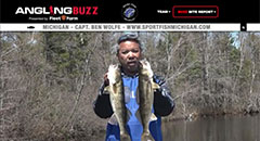 Ben Wolfe - Angling Buzz TV Fishing Report - Mid/Late May 2019