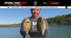 Ben Wolfe - Angling Buzz TV Fishing Report - Early June 2019