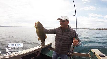 Michigan sport fishing guides sport fish michigan for Fall bass fishing