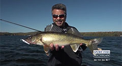 Michigan Walleye and Bass Fishing Report - Fall 2018,walleye, bass, fishing, michigan, fall, lake fishing, st. clair, saginaw