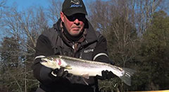 IFishigan Show #12 - Winter River Steelhead with Captain Ben Wolfe (Clip 1)