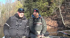 IFishigan Show #12 - Winter River Steelhead with Captain Ben Wolfe (Clip 2)