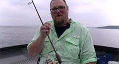 How to Rig for Vertical Jigging Lake Trout on Grand Traverse Bays using Jonah Jigs ,