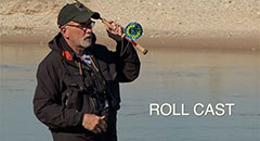 Roll Cast Technique for Fly Fishing,