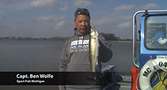 Saginaw River Walleye Fishing