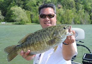 smallmouth bass fishing Michigan